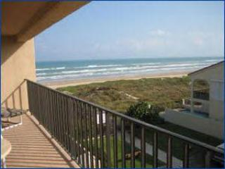 The view of the Gulf of Mexico from the south Balcony - Beachfront Bliss! Only a few steps to the beach! - South Padre Island - rentals