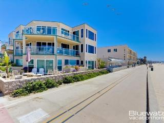 Rockaway Ocean Front II - 4 Bedroom Luxury Mission Beach Vacation Rental - San Diego vacation rentals