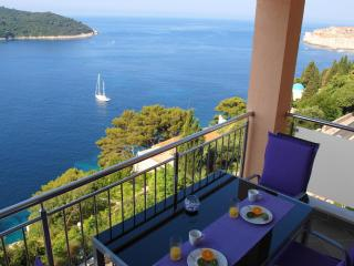 02- Designed 2-BR, balcony & views to die for! - Dubrovnik vacation rentals