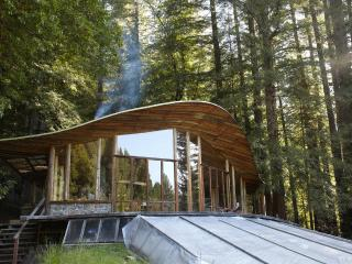 Parabolic All-Glass House in the Redwoods - North Coast vacation rentals
