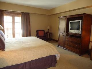 Lodge 306 - Hotel Room with King Bed and Outdoor Balcony. Sleeps 2. Internet. - Tamarack Resort vacation rentals