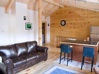 Woodstock Vermont Village Log Home Apartment - Eastern Vermont vacation rentals