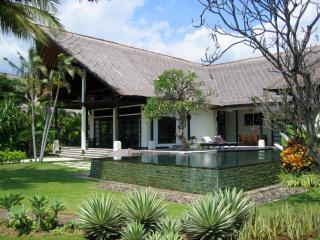 This stunning architect designed contemporary villa is set right on the beach on the outskirts of Lovina in Northern Bali. - Lovina Beach vacation rentals