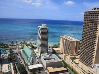 Banyan 35th Floor Ocean View Corner Condo $126+ - Waikiki vacation rentals