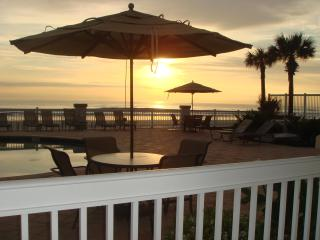 Oceanfront Suite, Ground Level and an AWESOME View - Daytona Beach vacation rentals