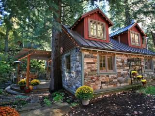 Storybook Stone Cottage** Hot Tub on the Stream - Utah Ski Country vacation rentals
