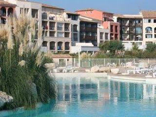 Lagoon Pool area - St Tropez Apartment - Cogolin - rentals