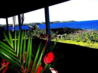 Oceanfront 3 Bedroom Alohahouse on the Puna Coast! - Keaau vacation rentals
