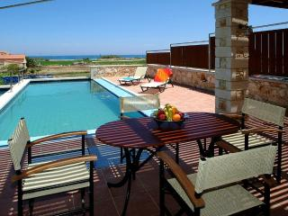 Corali villa with beautiful sea and mountain view - Crete vacation rentals