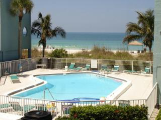Tiffany Place Condo- on the sand great view :FALL SPECIAL $137 PER NIGHT 2 WEEK MIN, - Anna Maria Island vacation rentals