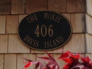 Look for this on front of cottage! - The Moxie Oceanfront Luxury Cottage