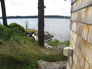 More water views from left side of cottage. - The Moxie Oceanfront Luxury Cottage