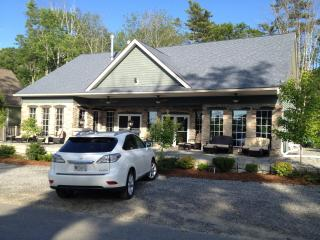 Outside view of club house. - The Moxie Oceanfront Luxury Cottage