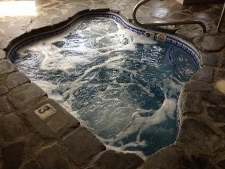 Hot tub! - The Moxie Oceanfront Luxury Cottage