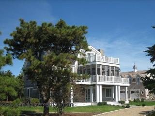 #7154 Reverse contemporary home with distant water views - Edgartown vacation rentals