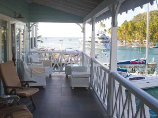 Sitting on the dock of the bay...St. Lucia - Marigot Bay vacation rentals