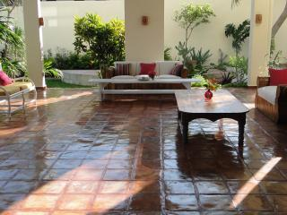 Casa Caribe Bed and Breakfast at beach in town! - Puerto Morelos vacation rentals