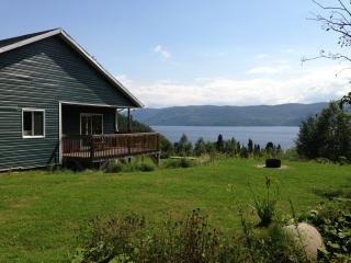 Splendid Panorama Fjord Saguenay! - Sainte-Rose-du-Nord vacation rentals