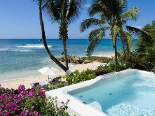 Beachfront Reeds House no9 with spectacular sea views & direct access to garden and beach - Saint James vacation rentals