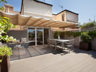 Duplex apartm. w/ 3 roof terraces in city center - Catalonia vacation rentals