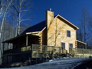 Angels Way Cabin exterior - Mountain Elegance At It's Best - Angels Way Cabin - Bryson City - rentals