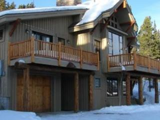 Front view of home with snow - Perfect GetAway! Ski-in/Out Home, Cowboy Heaven - Big Sky - rentals
