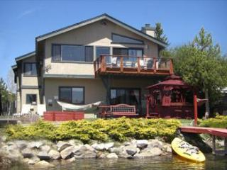 Waterfront Safari-Theme Home, Dock, Spa, Bikes Dog - South Tahoe vacation rentals