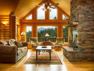 Gorgeous Log Cabin, Pikes Peak view, Family perfect - South Central Colorado vacation rentals