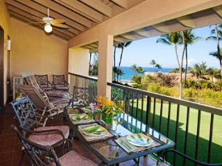 Partial Beach Ocean View Remodeled Ekahi Condo 18E - Wailea vacation rentals