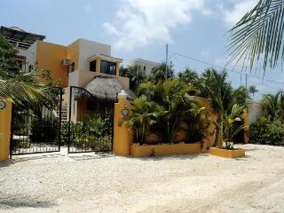 Casa Palmeras on the beach in Soliman Bay - Tulum vacation rentals