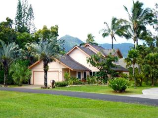 Renovated beautiful house! Best area of Princeville! Just steps to Queen's Bath! - Princeville vacation rentals