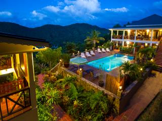 VILLA MAKAMBU- Charming-Spacious-Spectacular Views - Marigot Bay vacation rentals