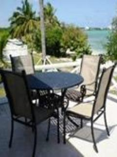 Spacious back deck overlooking your own private beach! - Exuma BEACHFRONT  Villas - George Town - rentals