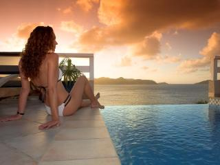 Luxury Villa with Spectacular Ocean, Sunset Views - Colombier vacation rentals