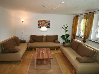 Vacation Apartment in Stolpen - 1399 sqft, newly furnished, quiet location, terrace with barbecue (#… - Saxony vacation rentals
