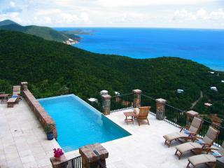 South Shore Villa 4 bedroom mountaintop ocean view - Fish Bay vacation rentals