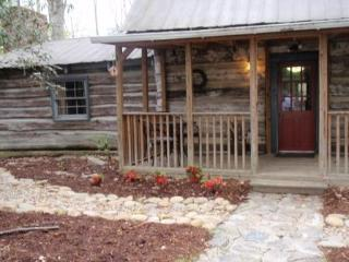 Historic 1800's Homestead Log Cabin, hot tub, wifi - Hendersonville vacation rentals