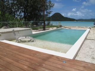 Out of the Blue Beach House - Jolly Harbour, Antigua - Beachfront, Gated Community, Pool - Antigua vacation rentals
