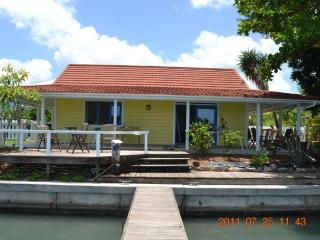 Lovely waterfront cottage - Yellow Belle! 317B - Jolly Harbour vacation rentals