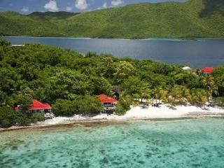 Seagrape Cottage - Exclusive beach haven features hot tub, seclusion & serenity - British Virgin Islands vacation rentals
