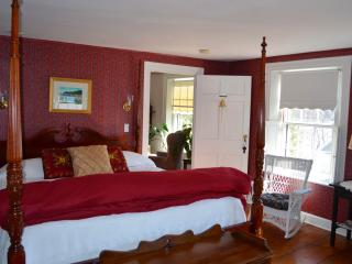 B&B room rentals - quiet street along the Kennebec - Bath vacation rentals