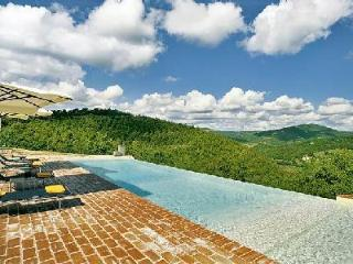Mountain view Casa Lazzari features a pizza oven, play house and infinity pool - Perugia vacation rentals