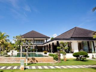 Luxury Beachfront Villa with Tennis Court, Helipad & Boat - Bali vacation rentals