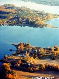 Aerial View of North River - English Country Waterfront Home on Historic Estate - Gloucester - rentals