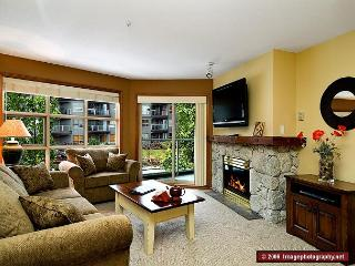 Aspens, prime ski-in, ski-out, 1 bdrm with BBQ, AC & bright, pool view - Whistler vacation rentals