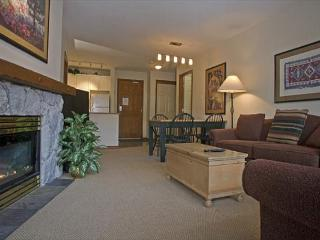 Aspens, prime ski-in, ski-out, bright 2 bedroom unit with BBQ & AC - Whistler vacation rentals