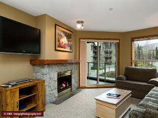 Aspens, prime ski-in, ski-out, spacious 2 bdrm with BBQ, sleeps up to 8 - Whistler vacation rentals