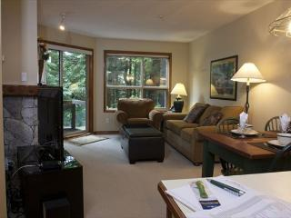 Aspens, prime ski-in, ski-out, 1 bdrm with serene forest view - Whistler vacation rentals