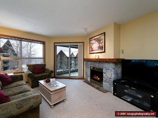 Aspens, prime ski-in, ski-out, 2 bdrm with bright pool view, BBQ & AC - Whistler vacation rentals