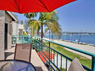 #3265 - WATERFRONT W/ Spacious Terrace! - Mission Beach vacation rentals